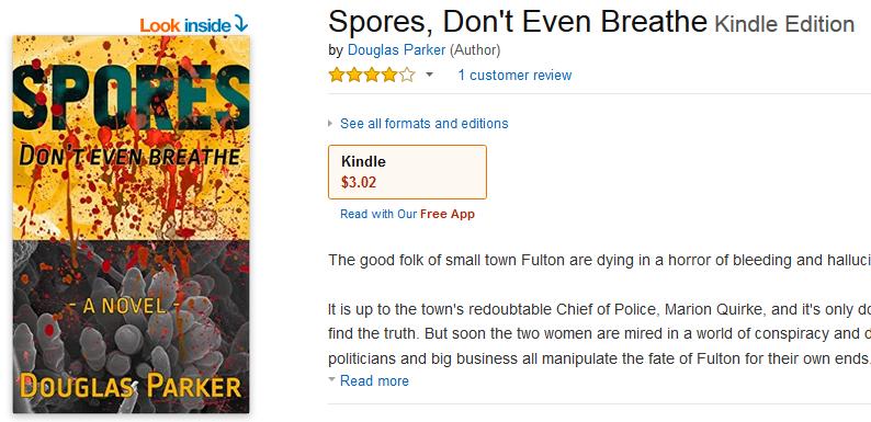 Kindle edition Spores Don't Even Breathe